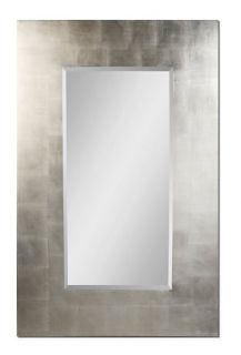 Large Silver Bathroom Floor Mirror Rectangle 36x56 New
