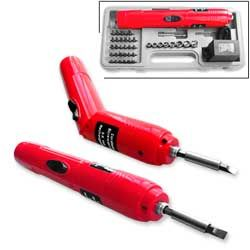 Cordless Battery Operated Power Powered Hand Straight Screwdriver Tool
