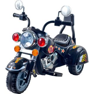 Harley Style Battery Operated Motorcycle Ride on Scooter 80 1616 Brand