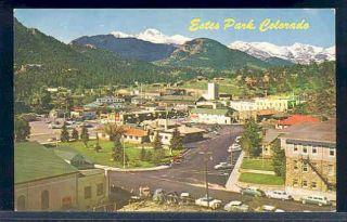 CO, Eses Park, Colorado, Ciy Scene, 50s Cars, Mike Robers No C8119
