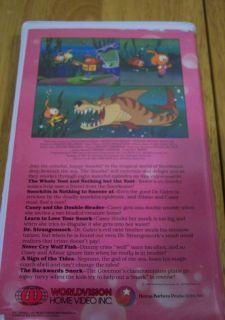 Hanna Barbera Snorks Bubbles of Fun VHS Video 1987 RARE