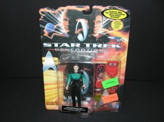 Star Trek Generations Commander Deanna Troi Playmates Sealed AS