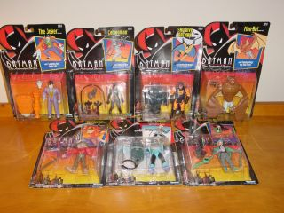 Batman The Animated Series Lot of 7 Figures Joker Catwoman