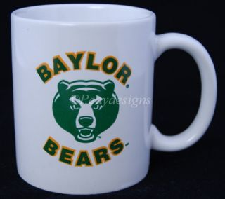 baylor university bears coffee mug description up for auction is this