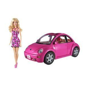 Barbie Doll VW Furniture Volkswagen Beetle Bug Car