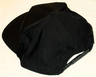 Crosby Stills Nash Baseball Cap Hat Black Licensed New
