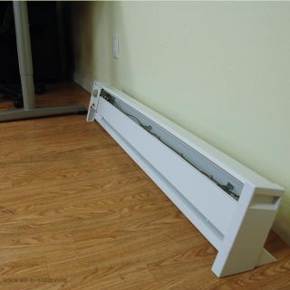 Fahrenheat 120V Portable Electric Baseboard Heater With 1,500 Watts