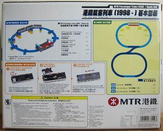 Tomy Plarail Hong Kong MTR Passenger Train 1998 Basic Set
