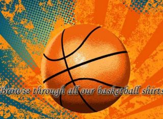 Shoot Like Girl Basketball Adult / Youth Sport T Shirt