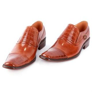 Mens Italian Style Shoes Hand Crafted All Leather Oxford Dress Casual