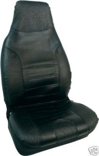 Bell Automotive Black Vinyl Universal Bucket Seat Cover