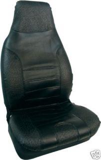 Bell Automotive Black Vinyl Universal Bucket Seat Cover