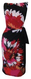 Graphic Floral Print Dress Belladonna Size 8 10 12 14 16 New