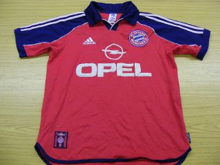 Bayern Munich 1999 Adidas Home Football Soccer Shirt Jersey Top Small