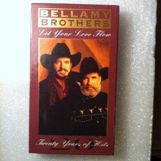 Bellamy Brothers Two 2 CD Lot Let Your Love Flow 20 Years of Hits