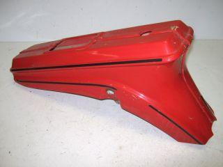 Batavus HS 50 Starflight Moped Plastic Rear Body Frame Cover 1978 Red