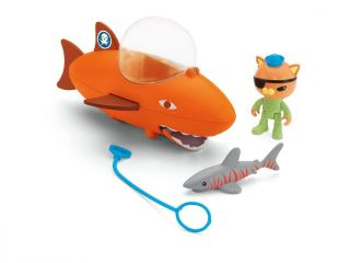 Octonauts Gup B Kwazii and Shark Playset Great Bath or Water Toy