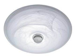 Hunter Ventura Brushed Chrome Bathroom Exhaust Fan