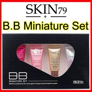 SKIN79 BB Cream Mini Set Pink Gold Diamond Pearl 8809223661447