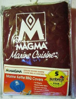 NEW Magma Marine Kettle BBQ cover 14 5 15 A10 191 Burgundy Red
