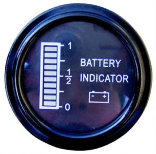 EZGO Clubcar Yamaha Golf Cart Battery Indicator Meter Gauge BDI