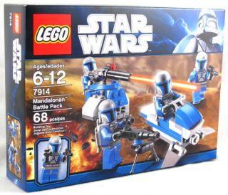 Star Wars Lego Mandalorian Battle Pack w/ 4 Mini Figures #7914