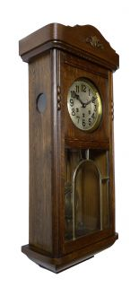 Beautiful Gustav Becker Westminster Wall Clock at 1920