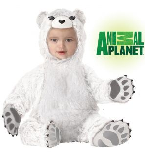 Polar Bear Animal Planet Baby Infant Zoo Costume