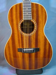 Bedell Oh 12 G Acoustic Parlor Guitar and Hard Case