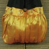 Summer Hippie Hobo Shoulder Bag Purse Tote Orange L2