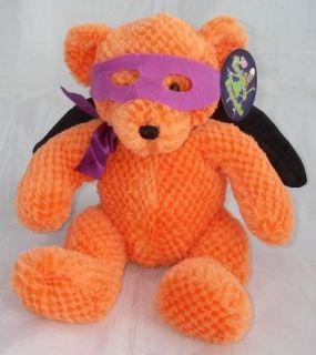 Sugar Loaf Orange Halloween Teddy Bear Wings Sugarloaf