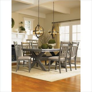 Nautical Beach House Dining Set Weathered Driftwood Style Furniture 7