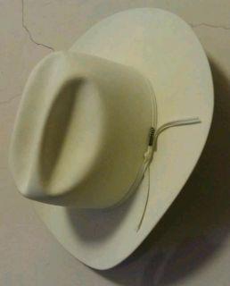 Resistol 5X Beaver Western Cowboy Hat Cattleman Style
