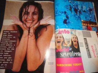 Seventeen 5/1994 Claudia Schiffer Chris ODonnell, Alicia Silverstone