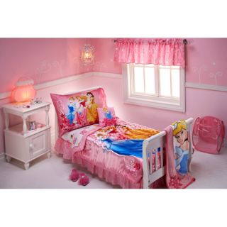 10pc Disney Princess Toddler Bedding Bed Set Comforter