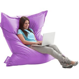 New Big Joe Bean Bag Chair Bed Kids Teen Dorm Room Purple Large 2