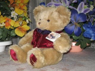 bear year 1996 new made for harrods uk year 1996 christmas teddy bear
