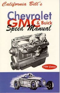Chevy GMC Buick Speed Manual Inline Six 6 Straight 8 216 248 228 270