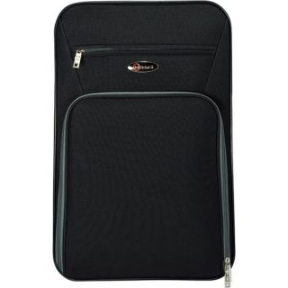 Benzi 3 Piece Expandable Luggage Set Black BZ3496BLACK