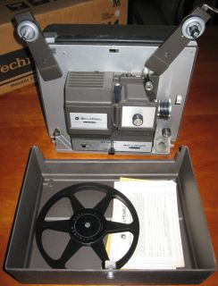Vintage Bell and Howell 8mm Super 8 Compatible Autoload Projector 456A