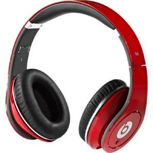 new beats by dr dre studio headphones red sealed
