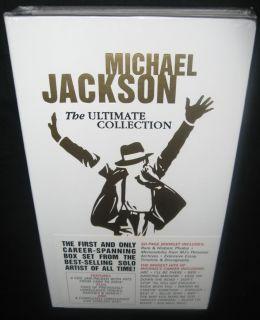 Michael Jackson The Ultimate Collection RARE 4 CD DVD