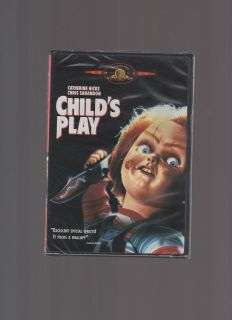 Childs Play Catherine Hicks Beau Bridges New DVD 1988