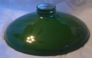 Metal Cone Lamp Light Shade Pendant 2 25 X 10 Green Porcelain