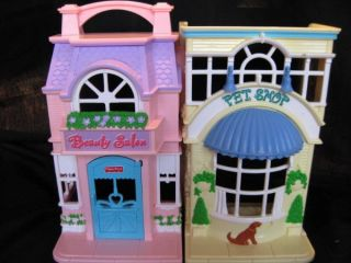 Fisher Price Sweet Streets Pet Shop Beauty Salon