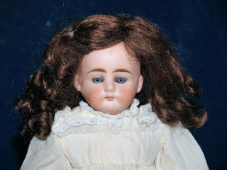 Tiny Alt Beck Gottschalck ABG Turned Shoulder Head Doll Closed Mouth