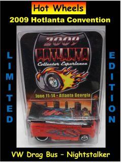 Hot Wheels Hotlanta Convention VW Drag Bus NightStalker Limited