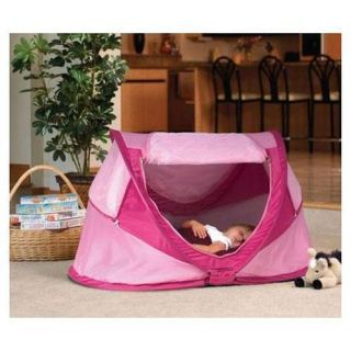 Kidco Peapod Plus Full Size Travel Bed Tent with Sleeping Bag