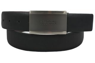 Kenneth Cole Mens Black Brown Reversible Leather Belt Size 40 New w