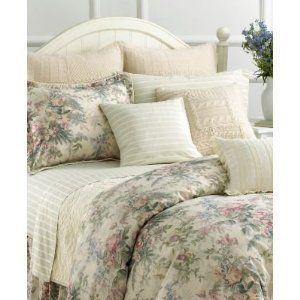Winter Garden Floral 6P Queen Duvet Cover Shams Pillow Set